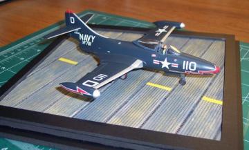 Rusty Keeler's 1/72 scale Hasegawa F9F-2 Panther
