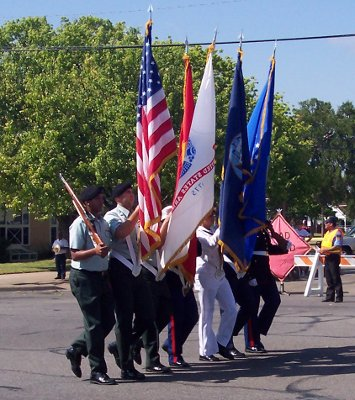 July 4th parade in Fredericksburg, TX, 2005