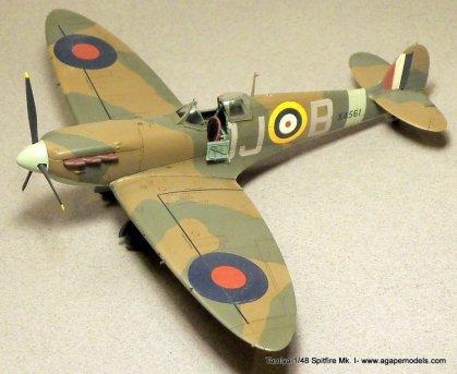 Tamiya-1-48-Spitfire-MkI-1