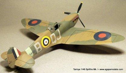 Tamiya-1-48-Spitfire-MkI-8
