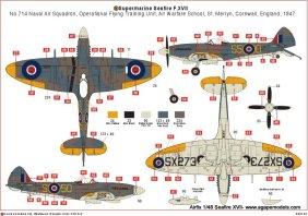 airfix-seafire-XVII-3