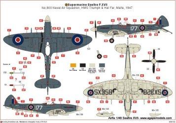 airfix-seafire-XVII-4