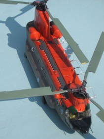 3 Ch-47 Chinook FAA H-93 upper starboard front