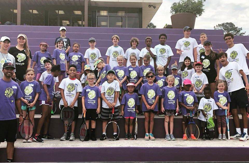 Tennis Summer Camp in at DeKalb Tennis Center in Atlanta