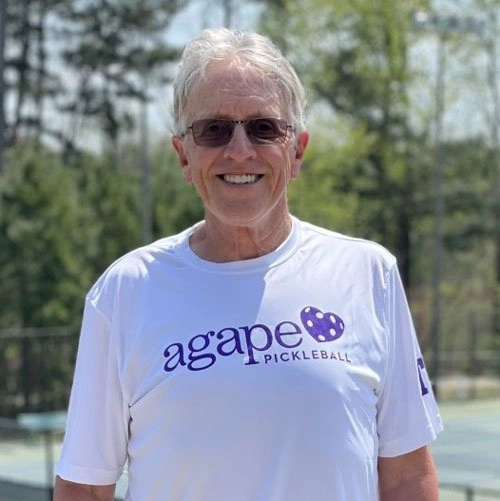 Pickleball Coach David Callihan at Agape Tennis Academy