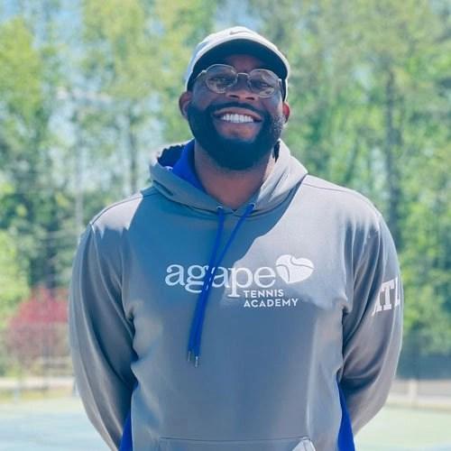 Coach Tory Martin at Agape Tennis Academy