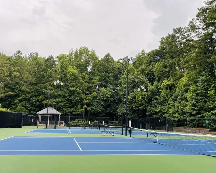 Tennis Courts at Hillbrooke Swim and Tennis Club