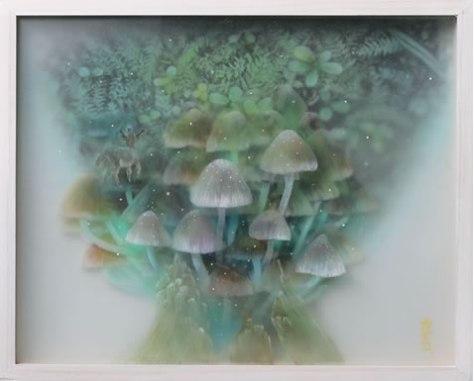 森旅-古代のささやき スリガラス3号