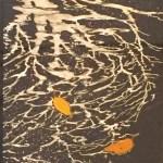菅かおる「木陰」(日本画)