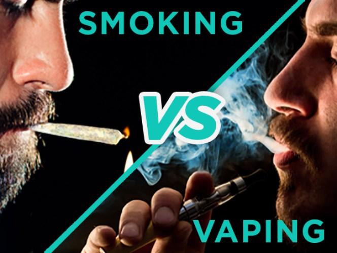 Image result for vaping vs smoking