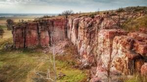 Quartzite cliffs. Photo © Dawn M. Armfield