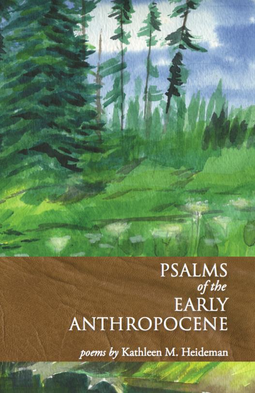 Psalms of the Early Anthropocene by Kathleen M. Heideman. © 2017 Winter Cabin Books, Michigan.