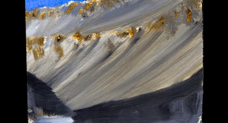 Upper Wright Down. Artist Chris Kannen. McMurdo Dry Valleys LTER
