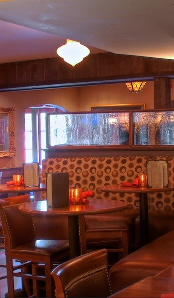 Photo of a booth at Agave Mexican Bistro