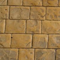 Terrasse en béton imprime à Vaudemanges