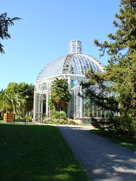 Serre du Jardin botanique de Genève