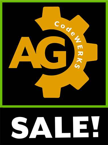 AG_codeWERKS Holiday Season Sale!