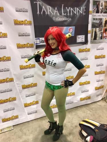 suicide squad poison ivy cosplay tara lynne a geek saga