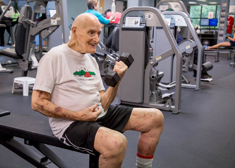 Challenging aging stereotypes and promoting good health through exercise