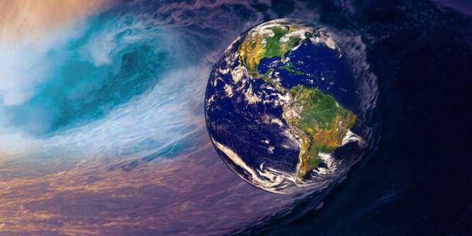 Earth in Storm