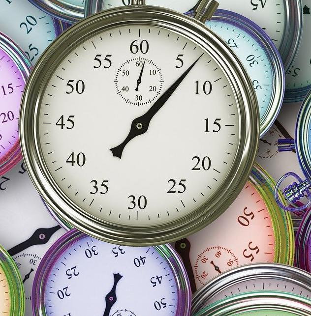 Clocks. Work on the future.