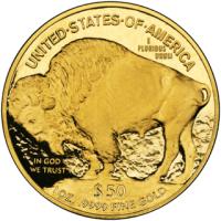 Buffalo gold coin
