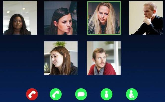 Video-chat app