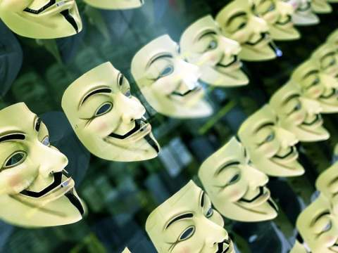 Fawkes Anonymous Mask