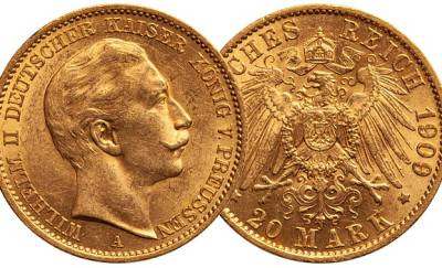 Gold Coin, Germany