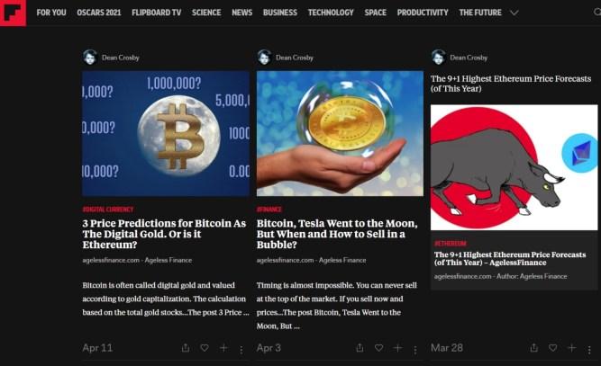 My Flipboard magazine–a nice alternative reading tool