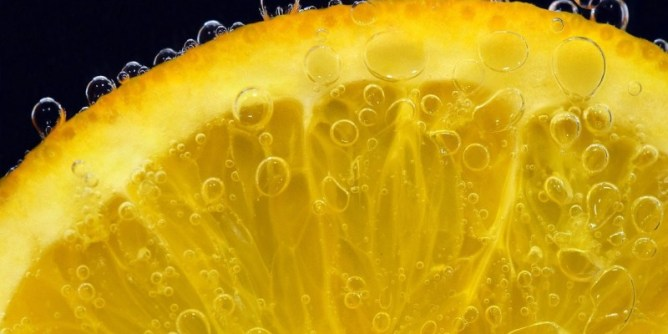 An orange slice. Is this the cheapest commodity now?