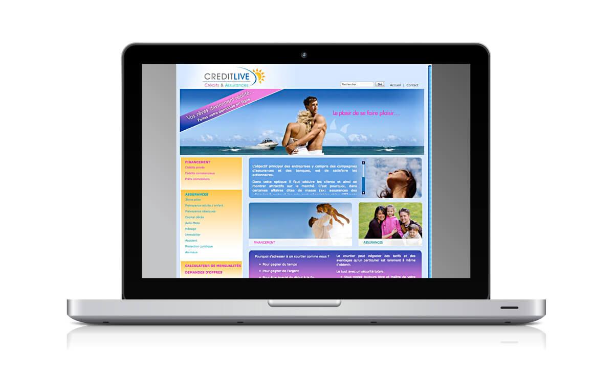 Rédaction du site internet de CreditLive
