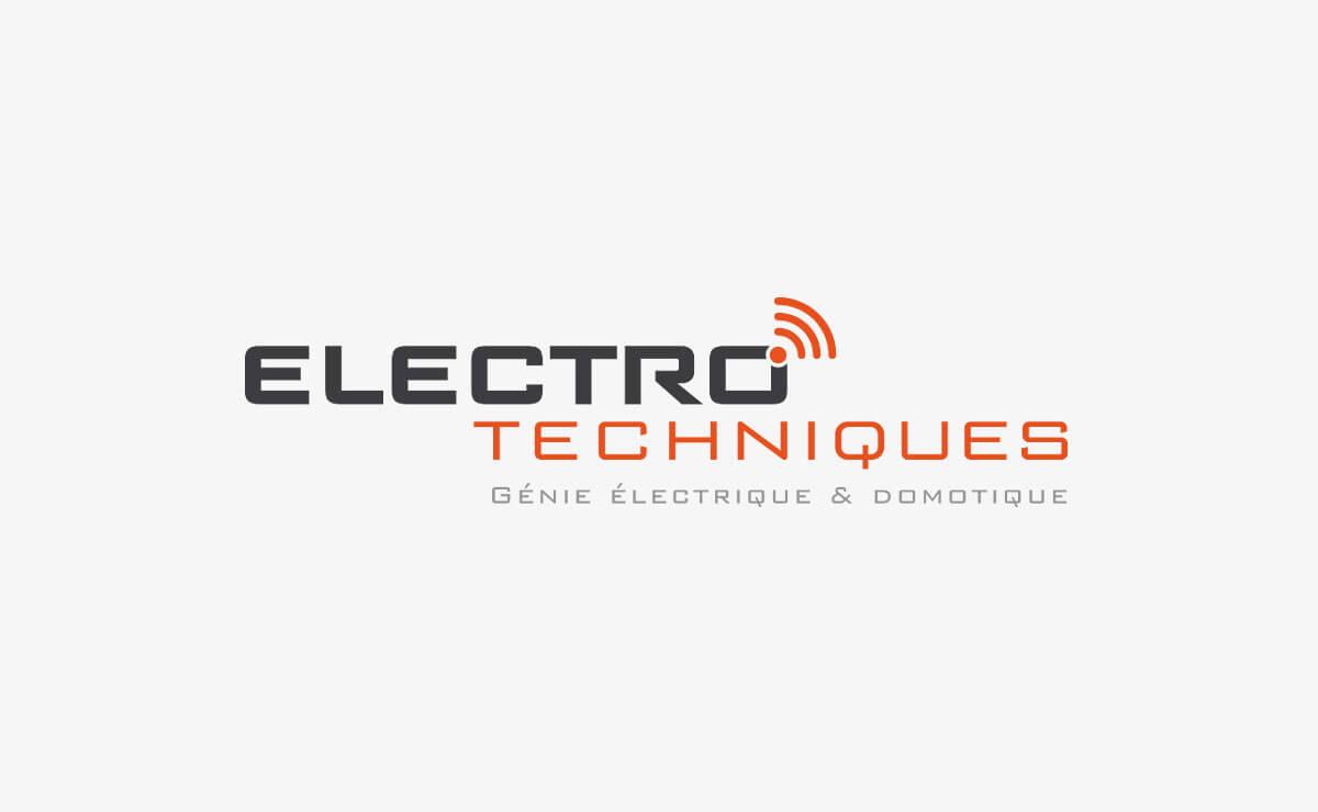 Création du logo et du nm de marque d'Electro-Techniques AZ SA