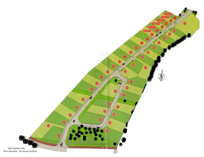 Challans - terrain 375 m2 à Challans - ELIOT IMMOBILIER CHALLANS