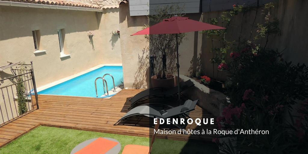 Création site internet maison d'hôtes - Edenroque