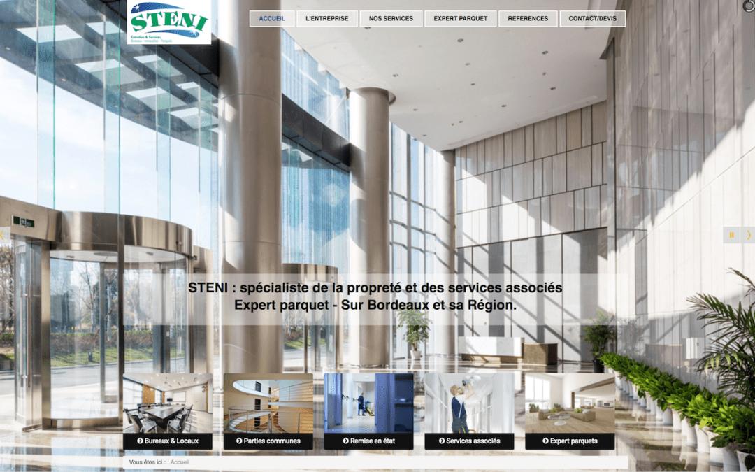 STENI – Site Vitrine – Société de Nettoyage