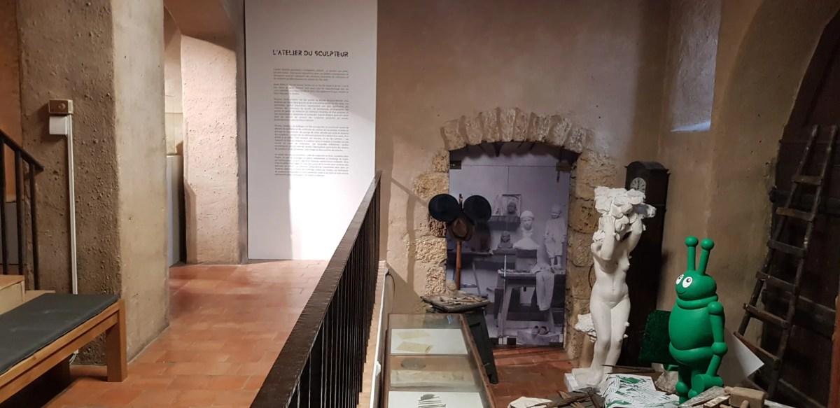 Impression d'une photo sur vinyle et pose au musée Despiau Wlérick