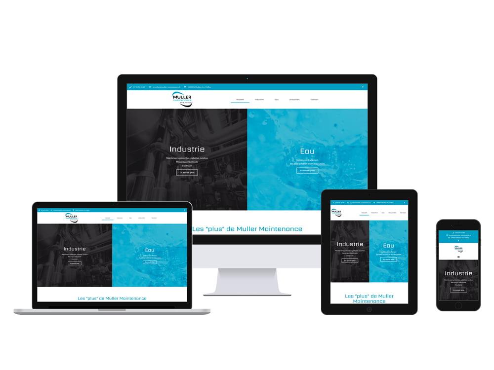 Site internet Muller Maintenance