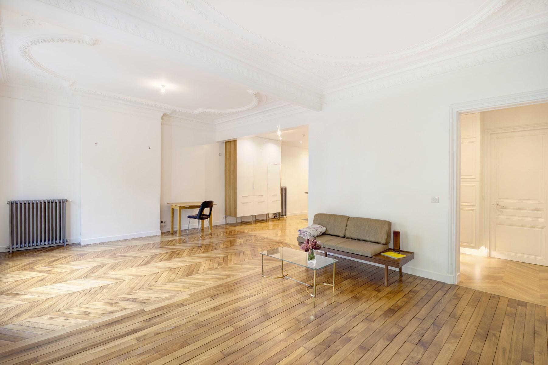 Rnovation Dun Appartement Haussmannien Paris Mairie 19eme