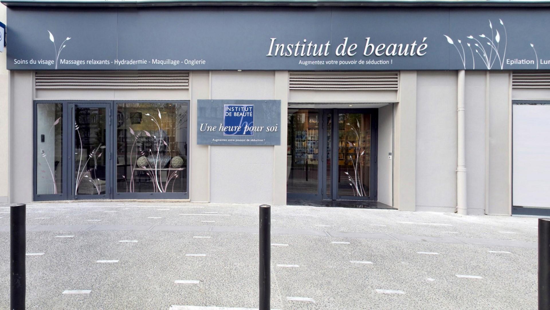 Cration Du Concept Architectural Institut De Beaut Une