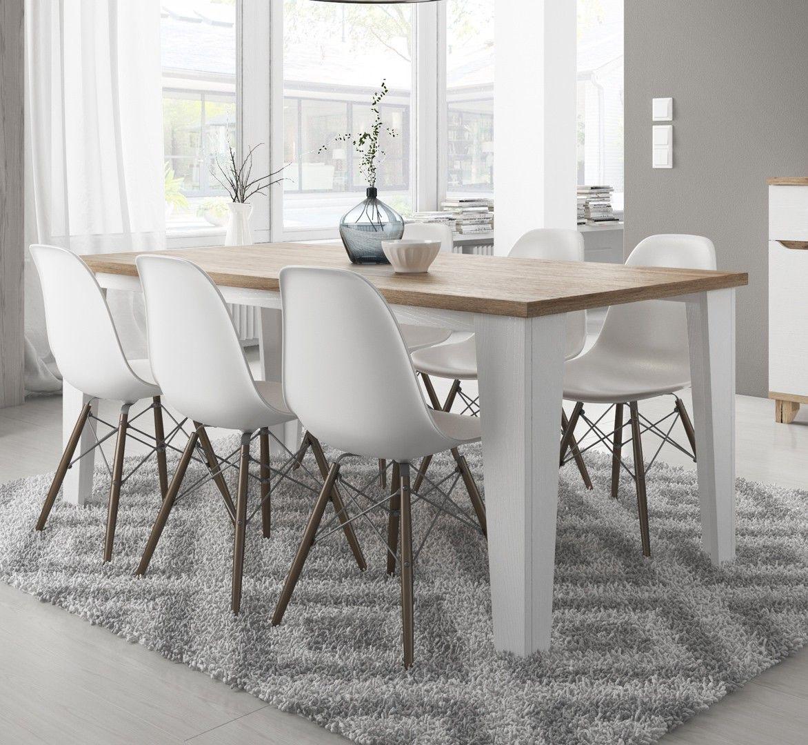 table avec meubles salle a manger ikea