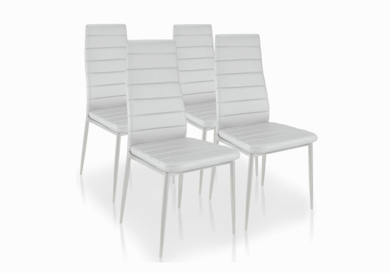 Lot 6 Chaises Design Blanc Fly A Chaises Salle A Manger Fly Agencecormierdelauniere Com Agencecormierdelauniere Com
