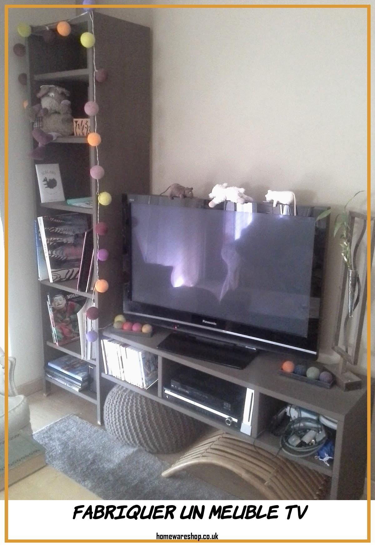 Phenomenal Fabriquer Un Meuble Tv Homewareshop Dedans Fabriquer Un Meuble Tv En Bois Agencecormierdelauniere Com Agencecormierdelauniere Com