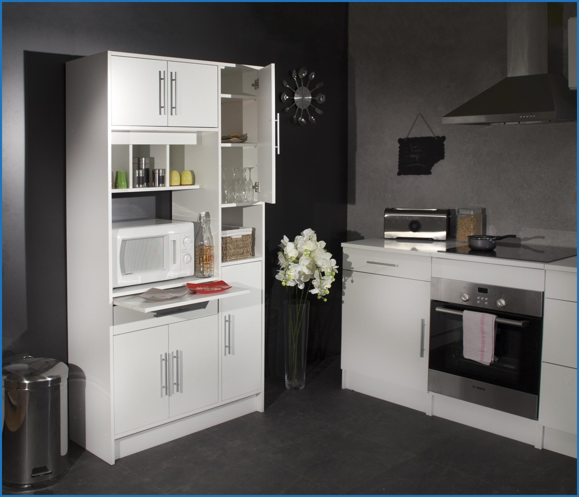 meuble cuisine pour frigo encastrable