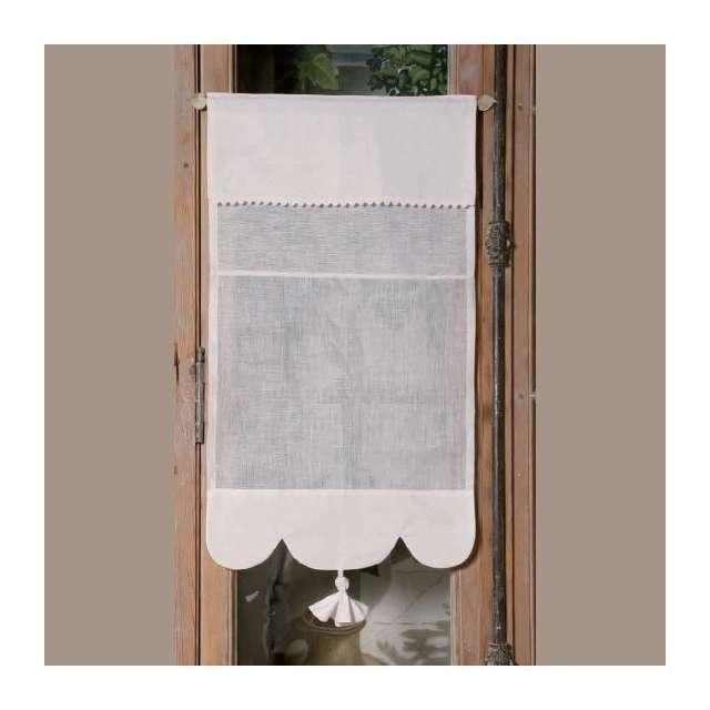achat en ligne brise bise lin blanc modele camelia des avec rideaux au metre a decouper agencecormierdelauniere com agencecormierdelauniere com