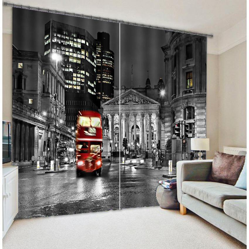 achetez en gros london print curtains