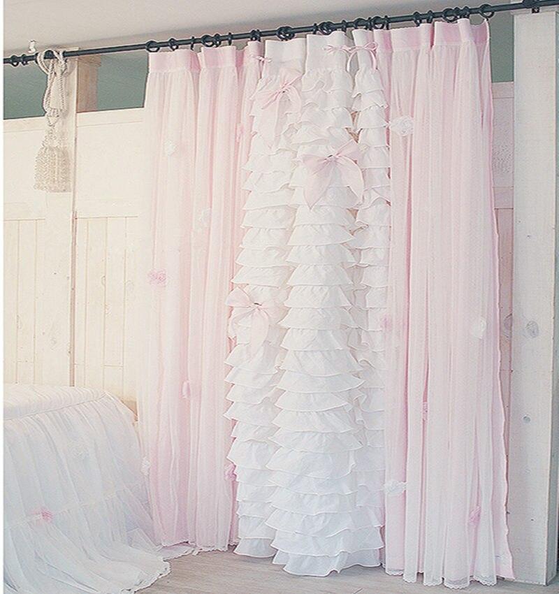 gros romantique chambre rideaux