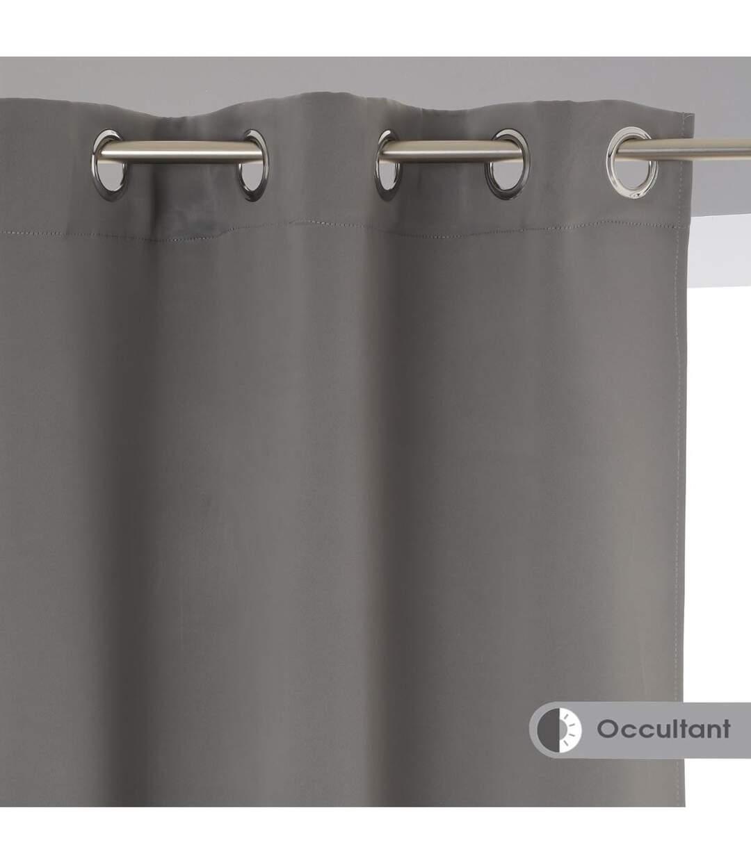 atmosphera lot de 2 rideaux