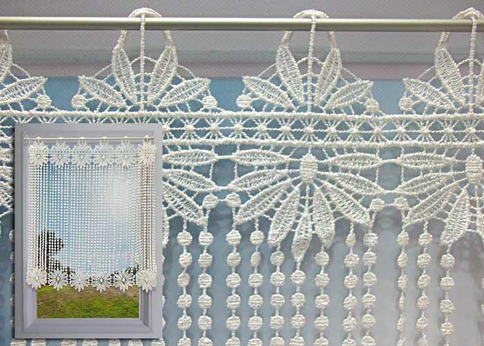 rideau a rideaux brise bise au metre
