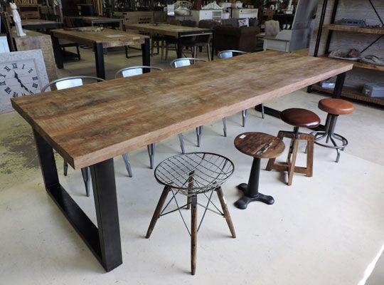 table salle a manger industrielle ikea
